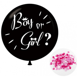 Gender reveal ballon - 91cm...